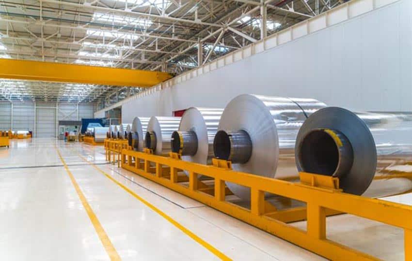 painting aluminum mills