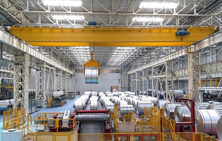 Painting Industrial Ceilings