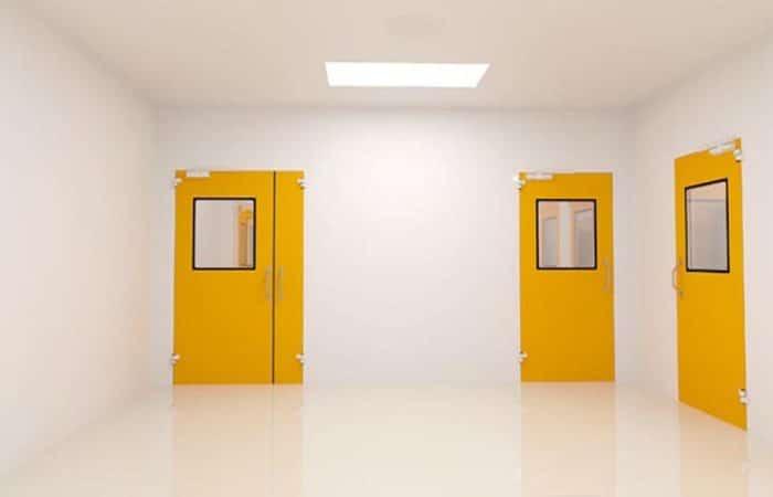 painting interior steel doors