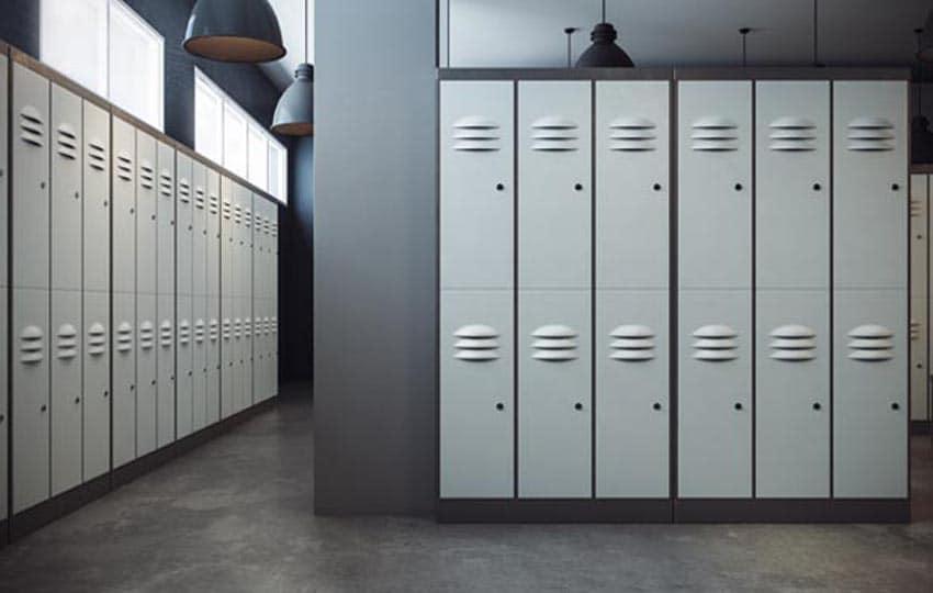 painting locker rooms