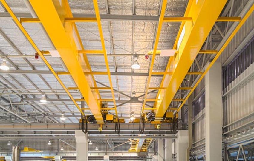 painting overhead cranes