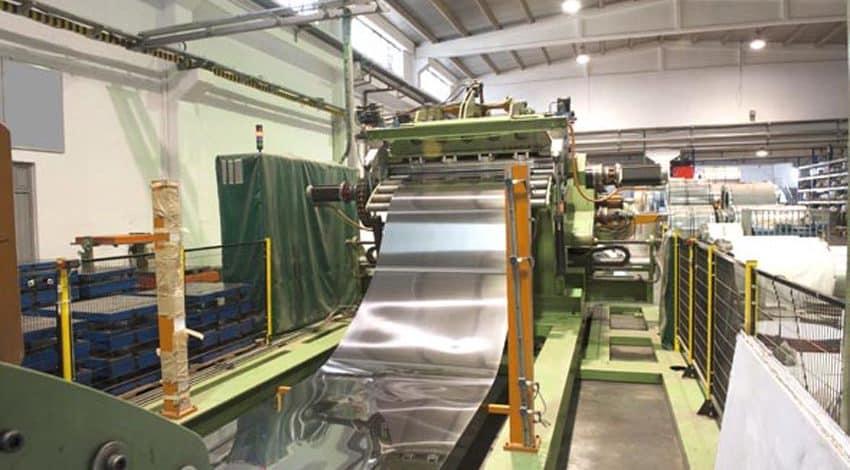 painting steel mills